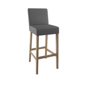 Drewniane krzesło Barowe 6