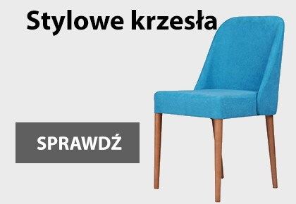 Stylowe krzesła