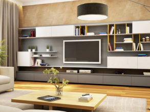 Modern furniture composition 2